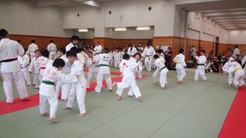 7月19日(土)福岡県中部柔道場連盟合同練習会