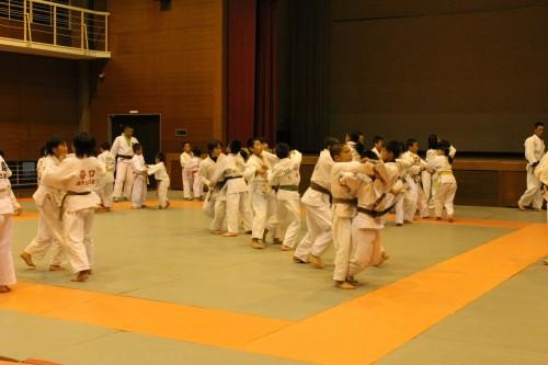 10月23日(木)志摩柔道と合同練習
