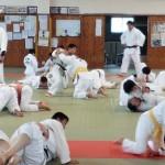 10月26日(日)篠栗町柔道部と合同練習