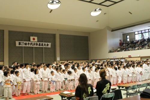 11月3日(月)第27回千代少年柔道大会