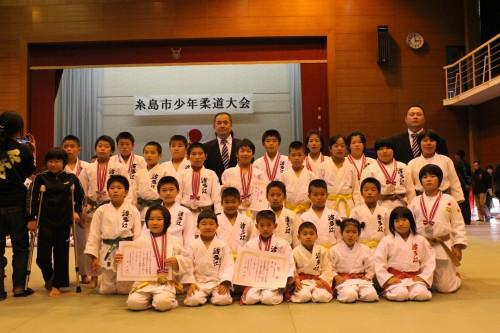 11月23日(日)糸島市少年柔道大会