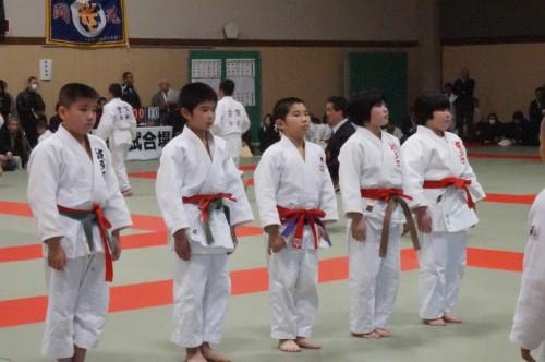 平成27年3月22日(日)第32回福岡県少年柔道大会