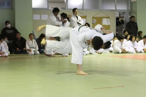 平成27年3月15日(日)第2回福大少年柔道合同練習会