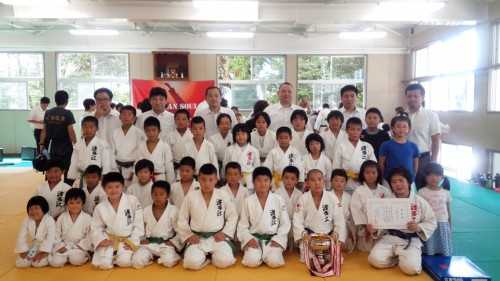 平成27年8月2日(日)第6回糸島市体育大会柔道競技