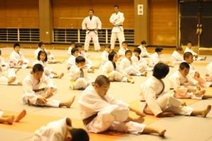 平成27年10月15日(木)志摩柔道さんと合同練習