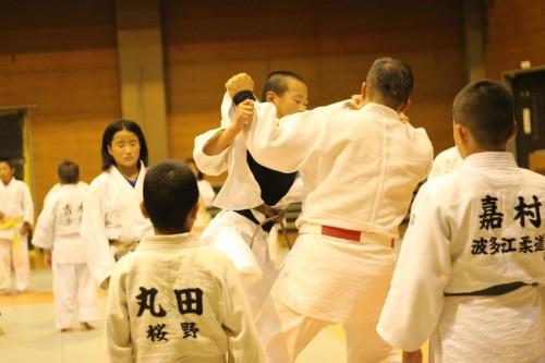 平成27年10月22日(木)志摩柔道さんと合同練習