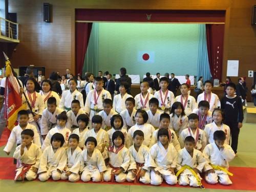 平成27年11月15日(日)第37回糸島市少年柔道大会