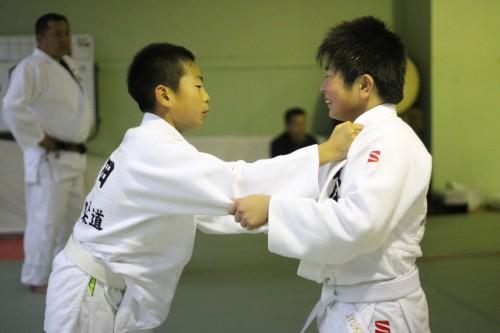 平成27年12月13日(日)第3回福大少年柔道合同練習会