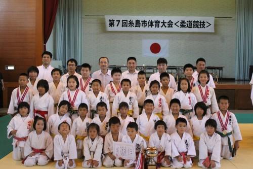 平成28年8月7日(日)第7回糸島市体育大会柔道競技