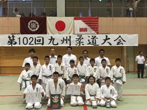 平成29年8月20日(日)第102回九州柔道大会