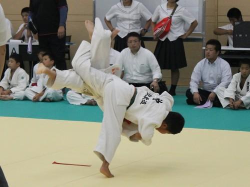 平成29年9月24日(日)第8回筑紫道場少年柔道大会