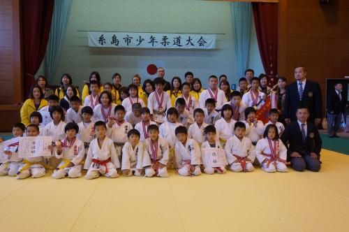 平成29年11月23日(木)第39回糸島市少年柔道大会