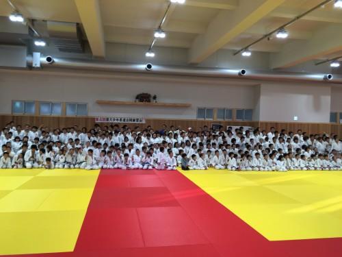 平成29年12月17日(日)第4回福大少年柔道合同練習会