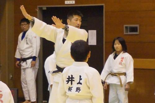 平成30年2月9日(金)桜野柔道さんと合同練習