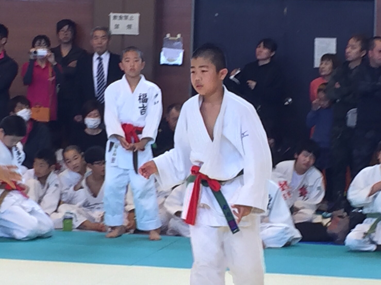 平成30年4月15日(日)第18回糸島市春季少年柔道大会