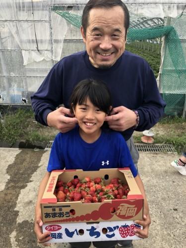 平成30年5月5日(土)親子レク・いちご狩り