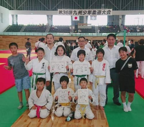 平成30年6月30日(土)、7月1日(日)第36回九州少年柔道大会
