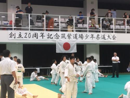 令和元年9月29日(日)創立20周年記念筑紫道場少年柔道大会